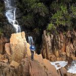 This hidden waterfall in Terengganu is the only one in Malaysia that flows into the ocean 2